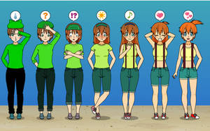 PokeTransformation 9! Misty TF TG Sequence by Nitro-The-Flygon