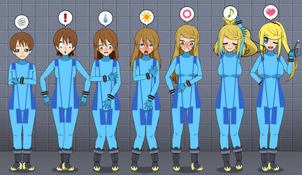 Very Punny: Zero Suit Samus TF TG Sequence by Nitro-The-Flygon