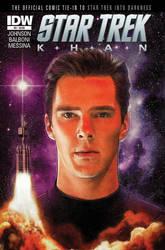IDW Star Trek Khan #3 by PaulShipper