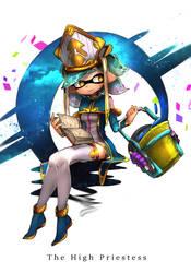 HeroMode:Arcana 02 The High Priestess by hizake