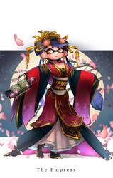 HeroMode:Arcana 03 The Empress by hizake