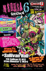 MedusaFest 2009 Promotional by elasticdragon