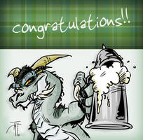 Congrats by elasticdragon