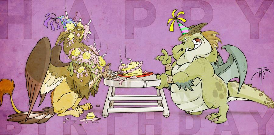 Happy Birthday! by elasticdragon