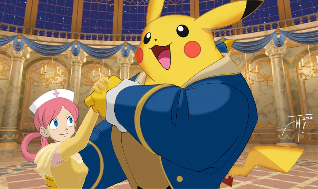 Pokemon Ballroom Mashup by elasticdragon