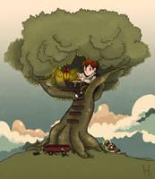 Tree House by Headwin