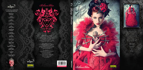 Lacing Glamour book cover by ulorinvex