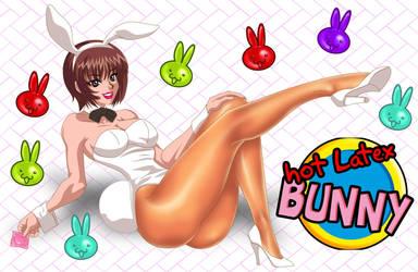 Hot Latex Bunny by Patylegs