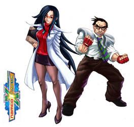 NXC Kyoko Minazuki and Hideo Shimazu by Patylegs