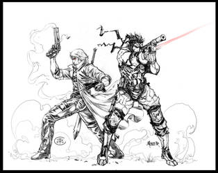 SNAKE AND DANTE_Collab by aaronminier