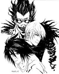Death Note INK by aaronminier