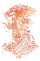 BLACK ROSE TPB COVER by aaronminier