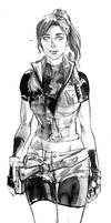 Claire Redfield RE2 by aaronminier