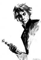 Luke Skywalker ROTJ by aaronminier