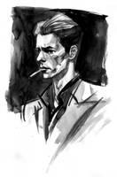 Bowie by aaronminier