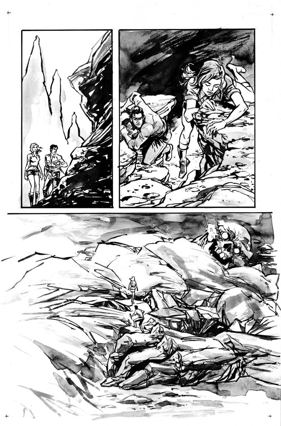 Evil Dead Audition Page 1 by aaronminier