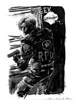 Leon S. Kennedy RE2 by aaronminier