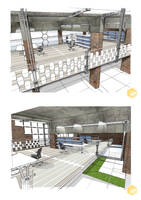 2 Interior perspectives by dreadwardo