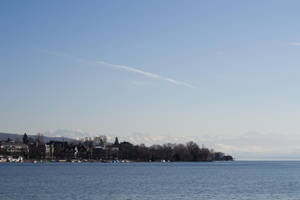 Lake of Zurich by merksch