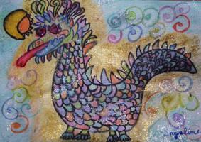 My little dragon by ingeline-art