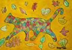 autumn cat by ingeline-art