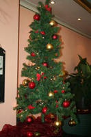 view to christmastree by ingeline-art