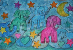 elephants of luck by ingeline-art