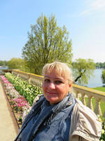 princess Ingeline in castle park by ingeline-art