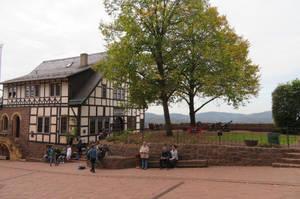 view at Wartburg with Ingeline 2 by ingeline-art