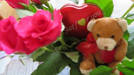 lovely valentine greetings by ingeline-art