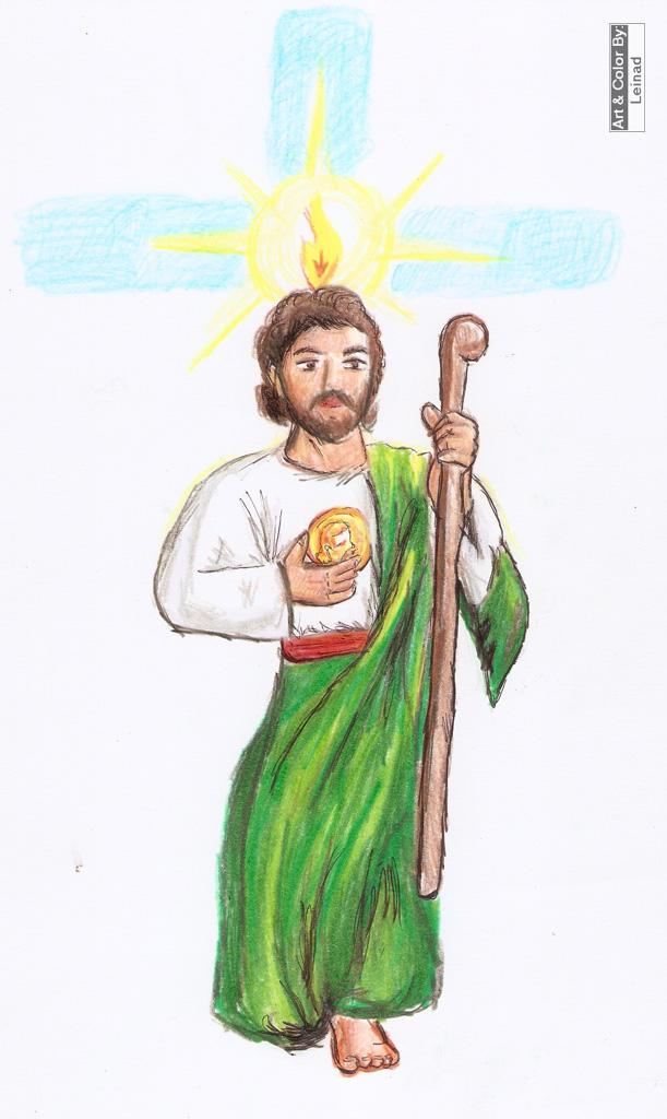 San Judas Tadeo By Leinad56 On Deviantart