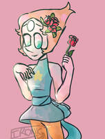 Pearl Sketch-SU by Ironic-Melon