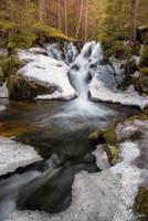 Maria Magdalena waterfall @ Retezat by Pod-Photography