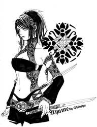 Aya da Goth-Kunoichi O_O by shinjyu