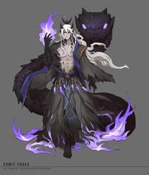 Comic Cross - Mystic Overlord by shinjyu