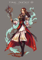 FFXIV Commish - for Ithums by shinjyu