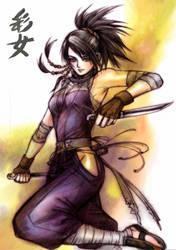 Tenchu - the purple Iris by shinjyu