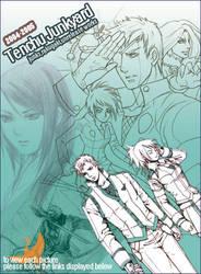 TENCHU+NINJA JUNKS1::2004-05 by shinjyu