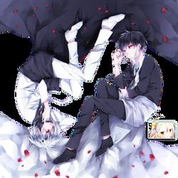 Ken Kaneki (Tokyo Ghoul) Render by DeathToTotoro