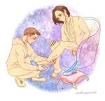 Cinderella!Jared and PrinceCharming!Jensen #AHBL8 by comuto-sama