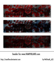 Header of Vampirland by NamfloW