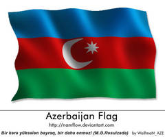 Azerbaijan_Flag by NamfloW