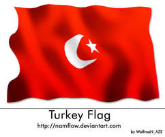 Turkey_Flag by NamfloW