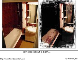 Pessimist bath by NamfloW