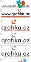 logos for qrafika by NamfloW