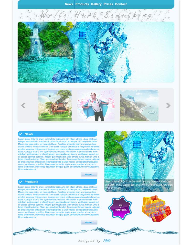 Web Interface v1 by NamfloW