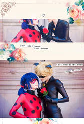 Miraculous Ladybug + Chat Noir by Emi-zone