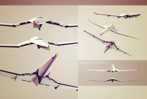 Sci-Fi Airplane by ivangraphics