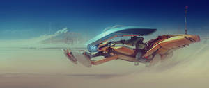 Ridon Hoverbike 2015 by ivangraphics