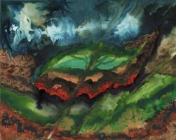 Internal Landscape by peggymintun